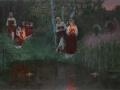 "Obraz Szymona Kożina ""Иван Купала. Гадание на венках"" (Kozhin, Simon [CC BY-SA 3.0 (http://creativecommons.org/licenses/by-sa/3.0)], via Wikimedia Commons)"