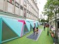 Fragment innowacyjnej, ekologicznej Bird Street. Copyright: Pavegen