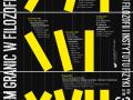 "XVII edycja seminarium ""Problem granic w filozofii i nauce"" - plakat"