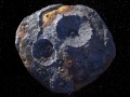 Asteroida Psyche | Image Credits: NASA/JPL-Caltech/ASU