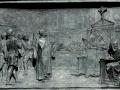Proces Giordano Bruno – tablica na pomniku filozofa na Campo di Fiori w Rzymie