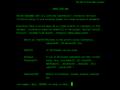 Zrzut ekranu odtworzonej pierwszej strony internetowej. Źródło: CERN