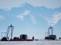 Instalacja na Jeziorze Bajkał. Źródło fotografii: Joint Institute for Nuclear Research
