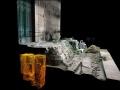 Laserowy trójwymiarowy skan pokazujący położenie grobu pod schodami Curii. Źródło: Parco Colosseo