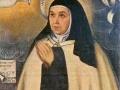 Kopia autentycznego portretu namalowanego w 1576 roku, przedstawiającego Teresę w wieku 61 lat
