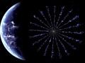 Artystyczna wizja technologii E-Sail. Źródło: NASA/MSFC