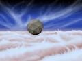 Artystyczna wizja fruwających sond na niebie Jowisza. Fot.  NASA/JPL-Caltech