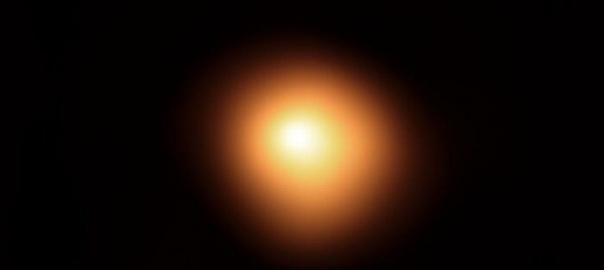 Betelgeza. Image credit: European Southern Observatory's Very Large Telescope (VLT)