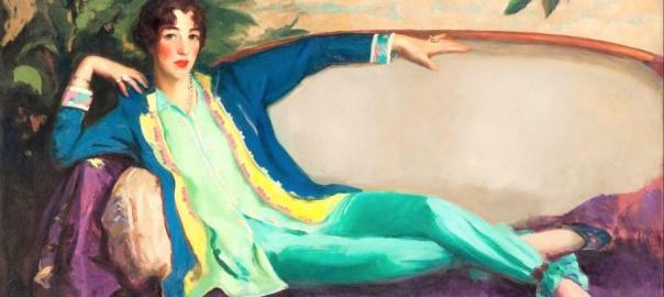 Robert Henri, Gertrude Vanderbilt Whitney, 1916   fot. domena publiczna / Google Art. Project