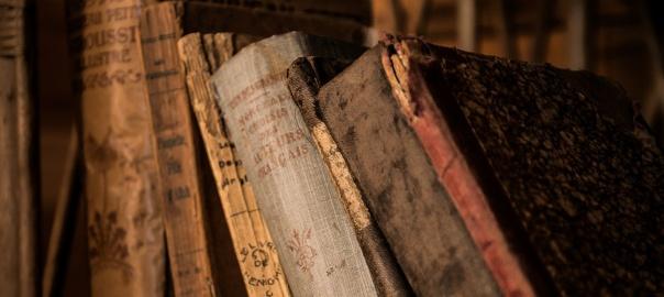 Stare księgi | fot. pixabay